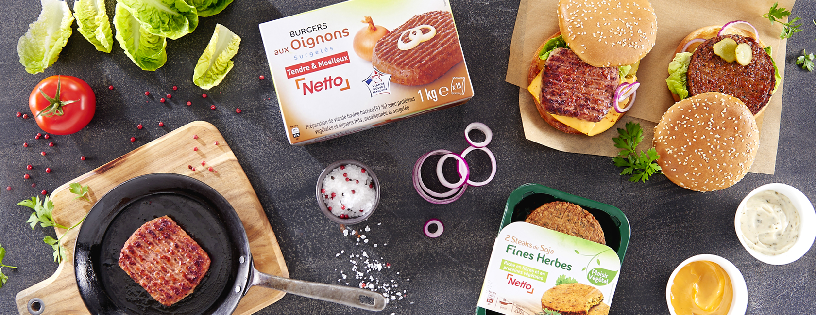 burger party Netto
